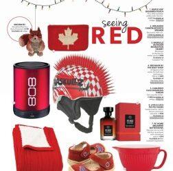 Seeing Red: Livie & Luca in ParentsCanada Magazine