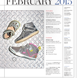 Out of This World: Fayvel and Livie & Luca in Earnshaw's Fall Shoe Preview Issue