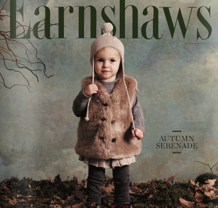 First Press Tears, First Cover! BellaSimoneNYC Shoes in Earnshaw's Baby Issue