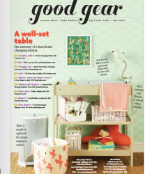Good Gear: Nuvola Baby in Pregnancy & Newborn Magazine