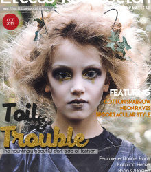 Boo! Little Revolution Magazine Features Halloween DIY Editorial
