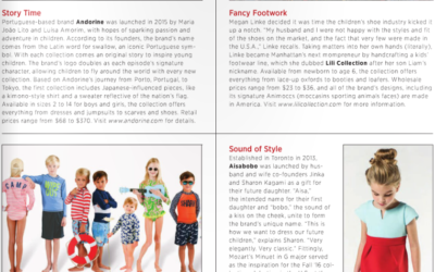Hello February: Lili Collection in Earnshaw's Magazine!