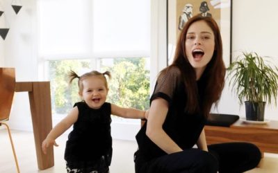 Coco Rocha Cuteness: Daughter Ioni in Infantium Victoria Again!