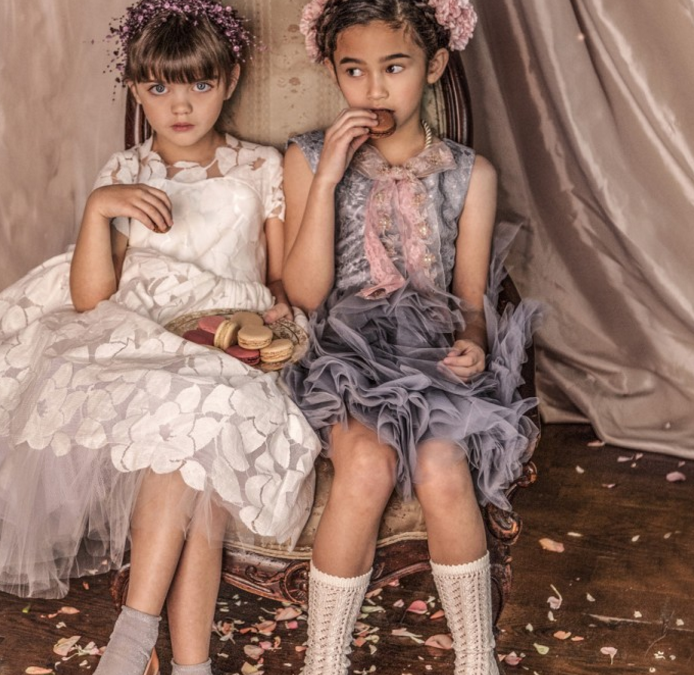 The luxury fashion rentals for littles site carries many name-brand dresses, including the Tutu Du Monde...