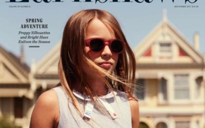 San Francisco Style: Ciao Bimba in Earnshaw's Magazine Editorial