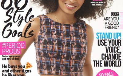 Fall Into Fashion: Prince Street Brooklyn in Girls' Life Magazine