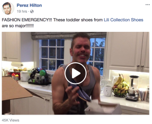 Shoe Haul: Perez Hilton Shares His Lili Collection Love!