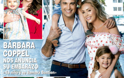 Hello October: Lili Collection Shoes on Cover of Hola! Magazine
