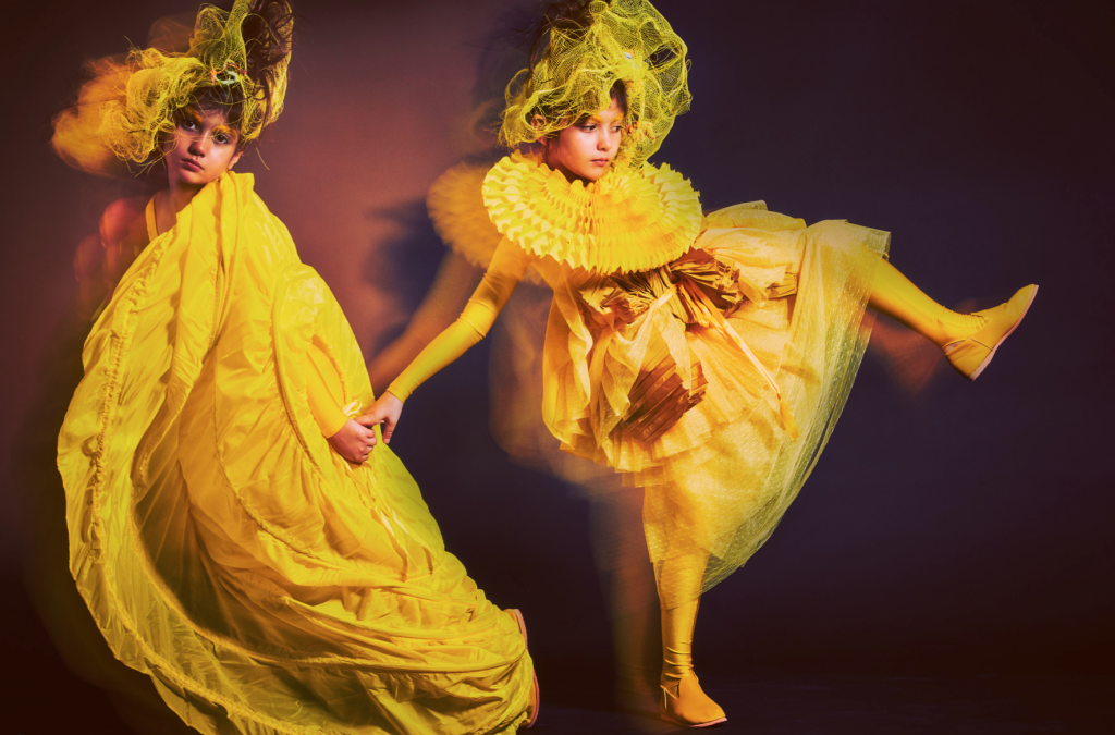 Bright as Yellow: Lili Collection in L'enfanteribble Magazine