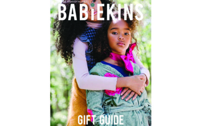 Hello Holidays: Lili Collection in Babiekins Magazine Holiday Gift Guide Issue