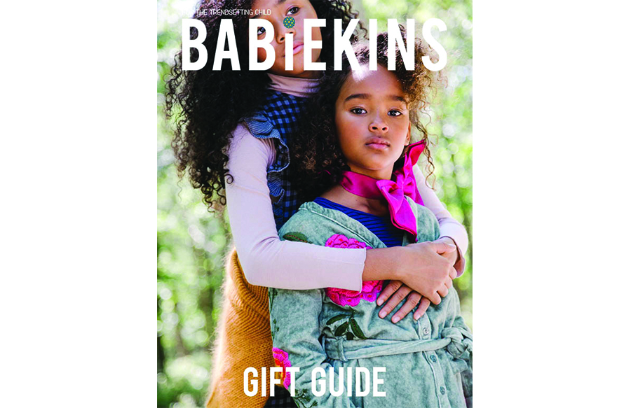Happy Holidays: Lili Collection in Babiekins Magazine Holiday Gift Guide Issue