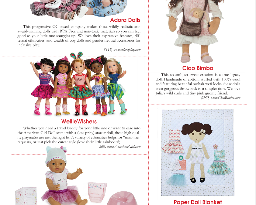 Holiday Heirlooms: Ciao Bimba in Parenting OC Magazine Gift Guide